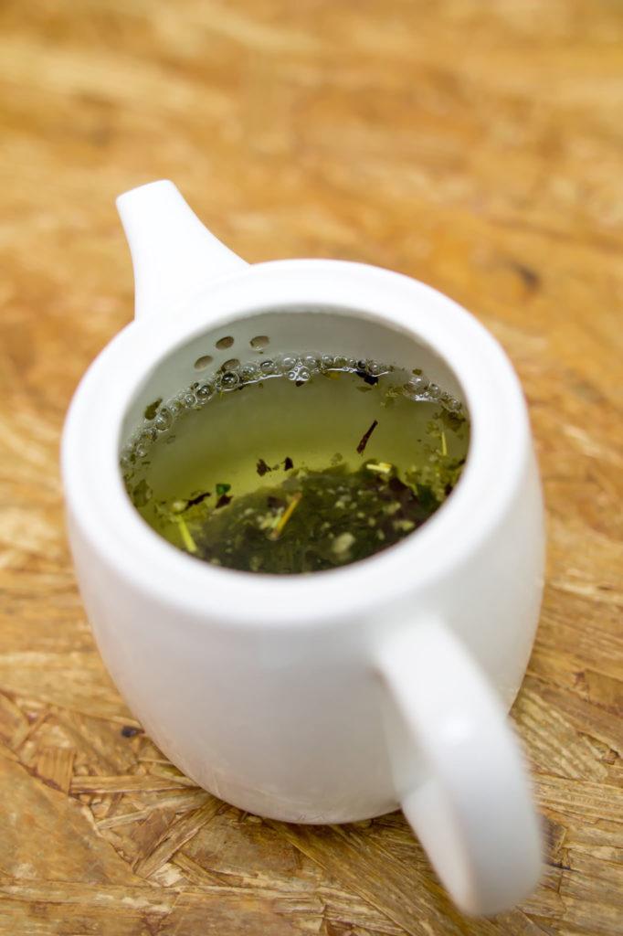 お茶を飲むのがマイブーム