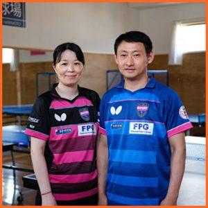 張本智和さんの両親